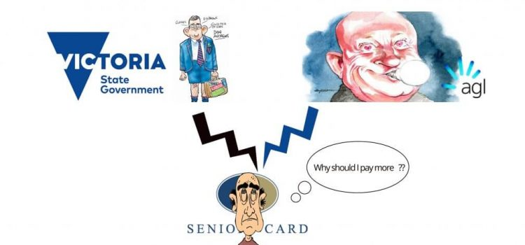 Victorian Government & AGL Seniors Card Offer dupes Seniors.