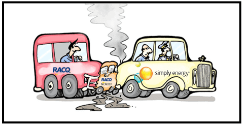Another motoring club duds members: RACQ Simply Energy